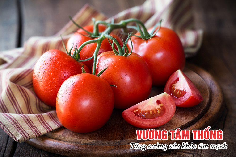 Cà chua rất giàu lycopene tốt cho người bệnh thiếu máu cơ tim